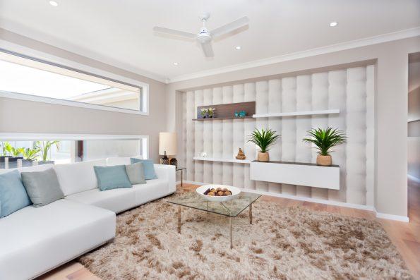 מאוורר תקרה לבן לסלון